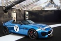 Jaguar Project 7 bleu 3/4 avant droit