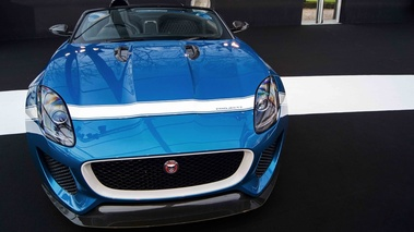 Jaguar Project 7 bleu face avant