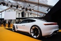 Festival Automobile International de Paris 2016 - Porsche Mission e 3/4 arrière gauche