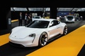 Festival Automobile International de Paris 2016 - Porsche Mission e 3/4 avant gauche