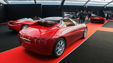 Festival Automobile International de Paris 2017 - Fioravanti Vola rouge 3/4 arrière droit