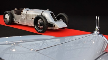 Festival Automobile International de Paris 2017 - Voisin Speedrecord 3/4 avant droit