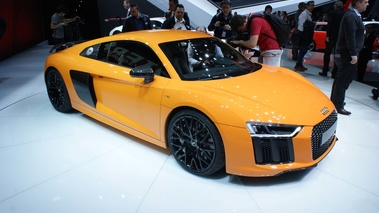Audi R8 MY2015 V10 Plus orange 3/4 avant droit