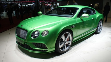 Bentley Continental GT Speed vert 3/4 avant gauche