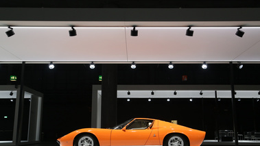 Grand Basel 2018 - Lamborghini Miura LP400 orange/gris profil