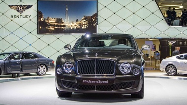 Bentley Mulsanne Speed vert face avant