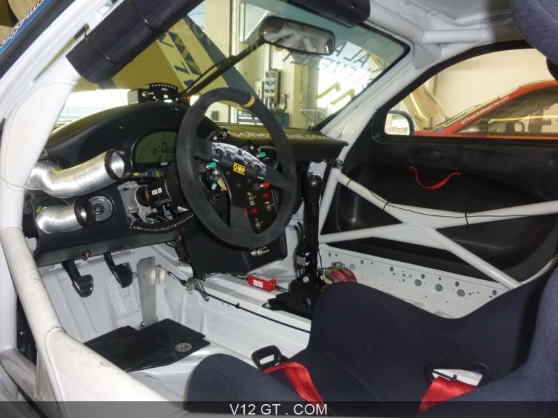 V12 gt essaye la porsche 997 rsr cup sur circuit for Interieur 997