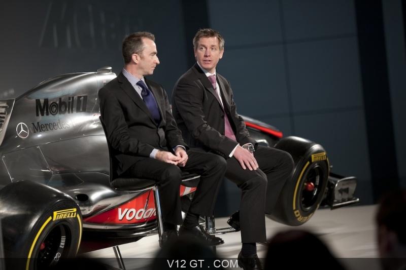 Pr sentation de la nouvelle formule 1 mclaren pour 2012 - Voitures de sport la nouvelle gt de mclaren ...