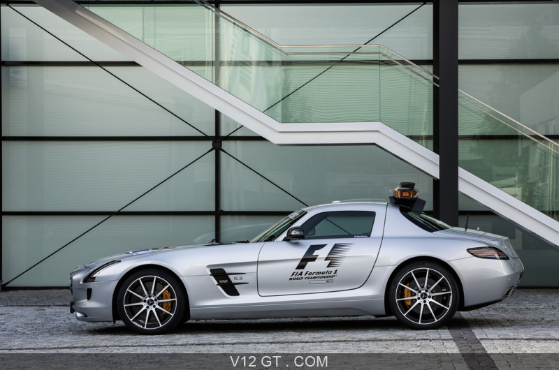 mercedes sls amg safety car. Black Bedroom Furniture Sets. Home Design Ideas