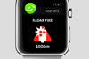 Coyote sur l'Apple Watch