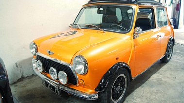 Sellerie Caribex - Mini orange 3/4 avant gauche