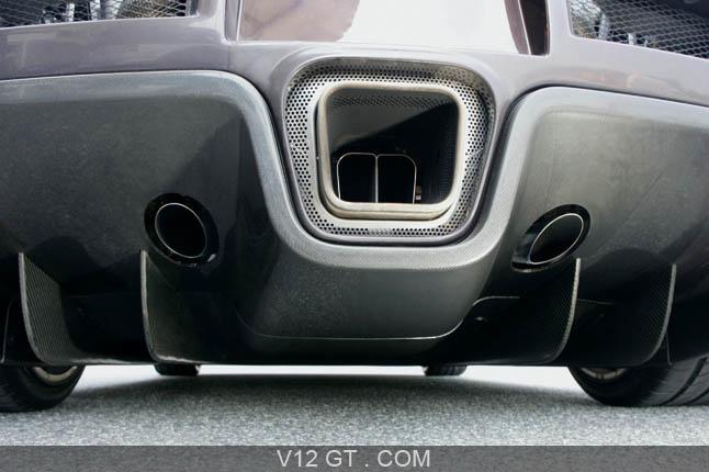 Bugatti Veyron D 233 Tail Diffuseur 233 Chappement Bugatti