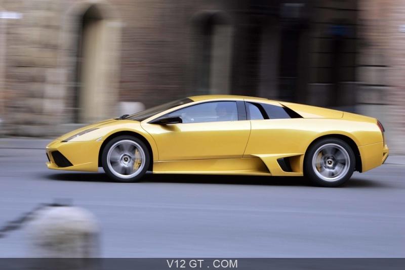 Lamborghini Murcielago Lp 640 Jaune Profil Lamborghini Photos Gt