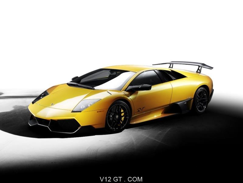 Lamborghini Murcielago Lp 670 4 Sv Jaune 3 4 Avant 2 Lamborghini