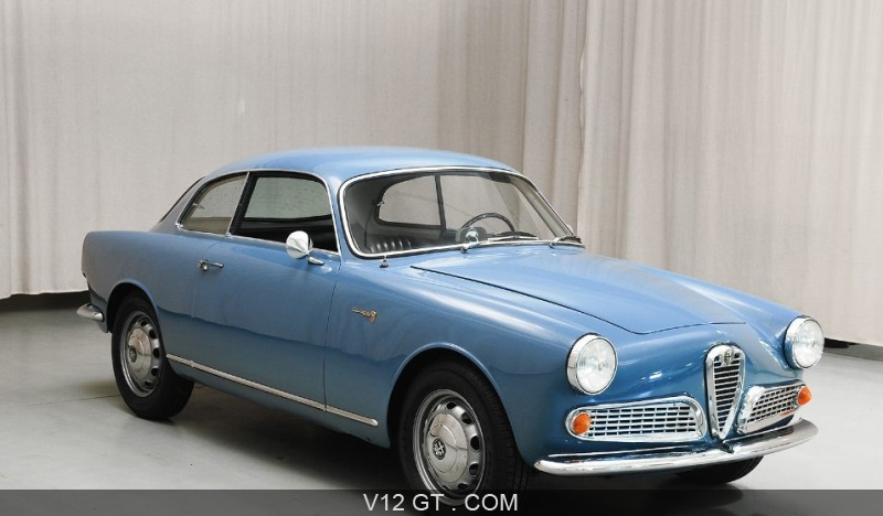 alfa romeo giulietta sprint 1960 petites annonces. Black Bedroom Furniture Sets. Home Design Ideas