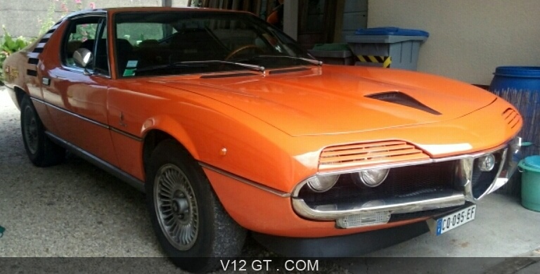 alfa romeo montreal 1971 petites annonces gratuites avec. Black Bedroom Furniture Sets. Home Design Ideas