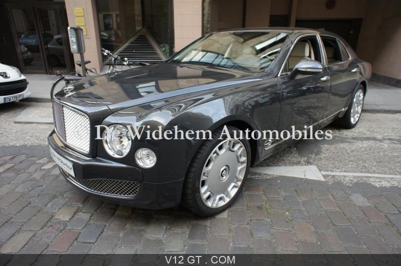 bentley mulsanne vendu 2012 petites annonces gratuites. Black Bedroom Furniture Sets. Home Design Ideas