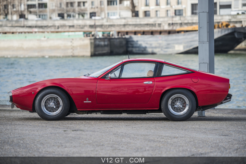 ferrari 365 gtc 4 vendu 1971 petites annonces. Black Bedroom Furniture Sets. Home Design Ideas