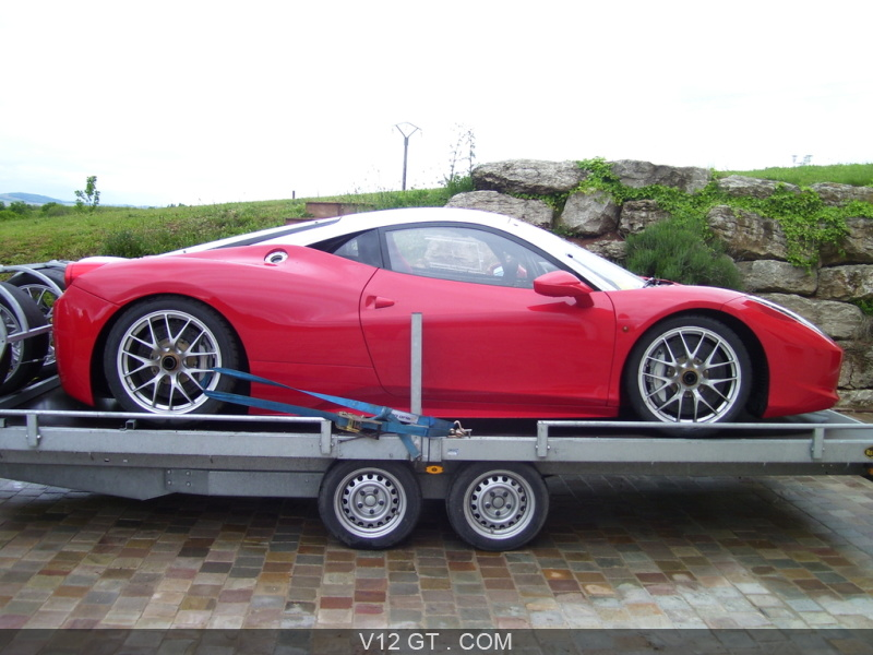 ferrari 458 challenge vendu 2013 petites annonces. Black Bedroom Furniture Sets. Home Design Ideas