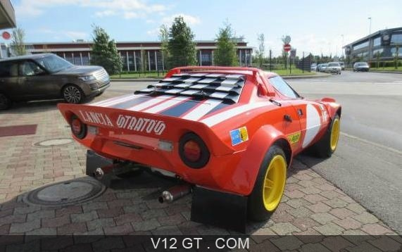 lancia stratos gr iv vendu 1974 petites annonces. Black Bedroom Furniture Sets. Home Design Ideas