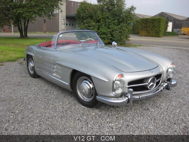 mercedes benz 300 sl roadster vendu 1958 petites. Black Bedroom Furniture Sets. Home Design Ideas