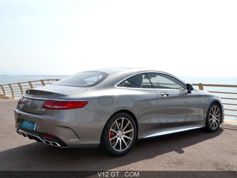 mercedes benz s63 amg coupe vendu 2014 petites. Black Bedroom Furniture Sets. Home Design Ideas