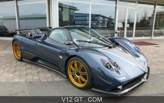 pagani zonda tricolore vendu 2010 petites annonces. Black Bedroom Furniture Sets. Home Design Ideas