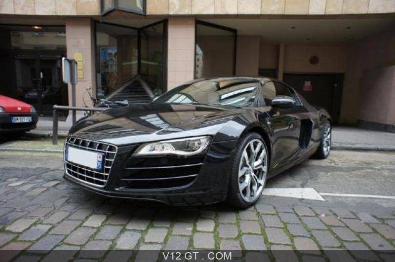 Audi r8 v10 - vendu 2009 - 3/4 avant gauche