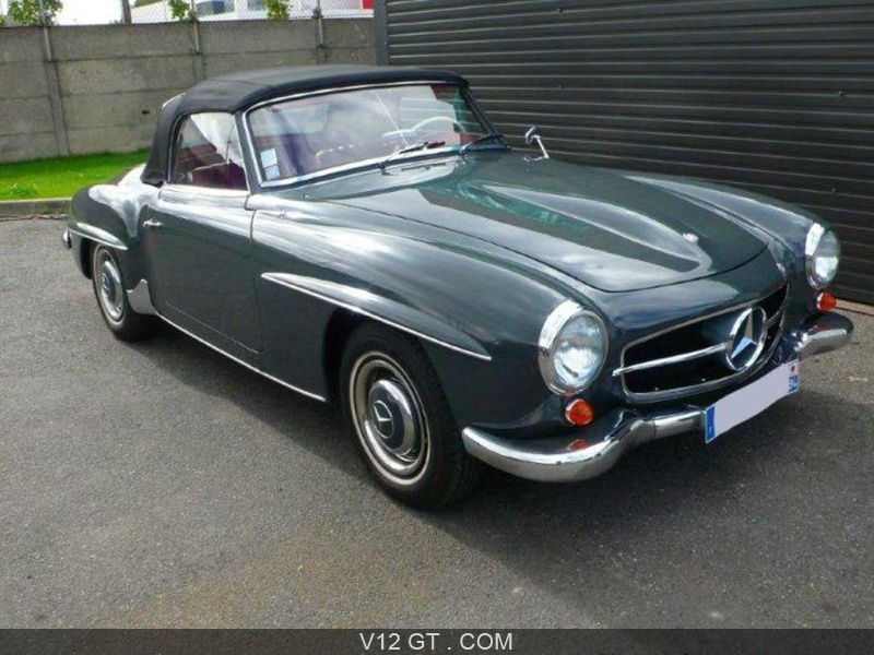 mercedes benz 190 sl 1958 petites annonces gratuites. Black Bedroom Furniture Sets. Home Design Ideas