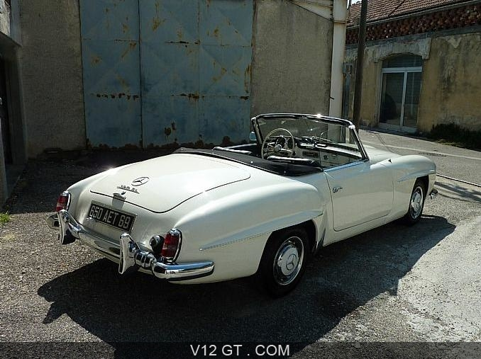 mercedes benz 190 sl 1962 petites annonces gratuites. Black Bedroom Furniture Sets. Home Design Ideas