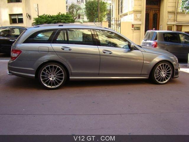 Mercedes benz c63 amg estate vendu 2008 petites for Prestige mercedes benz
