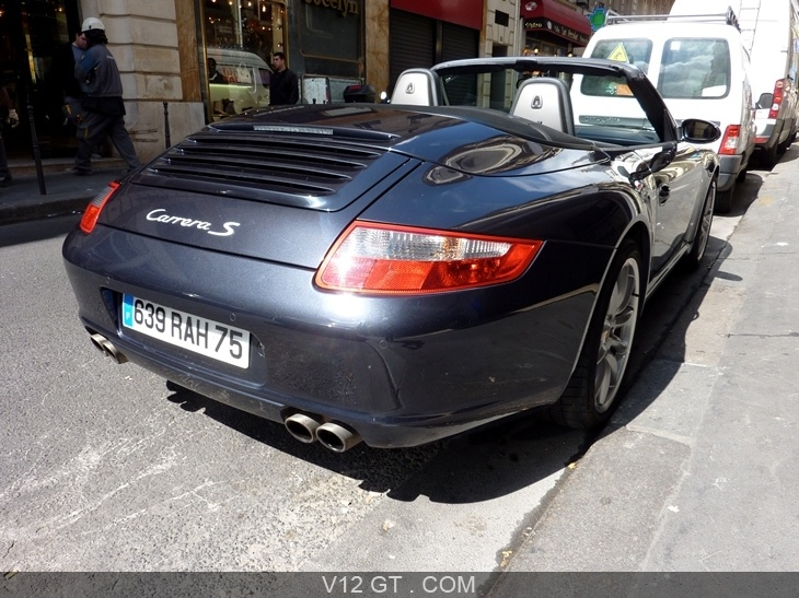 porsche 997 carrera s vendu 2006 petites annonces. Black Bedroom Furniture Sets. Home Design Ideas