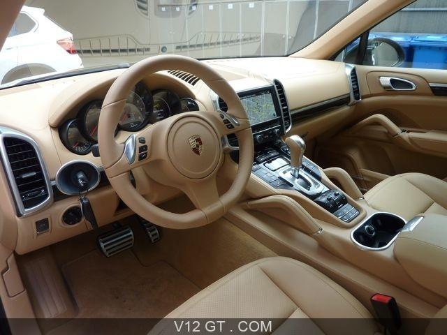 Porsche cayenne s vendu 2011 petites annonces for Interieur porsche cayenne