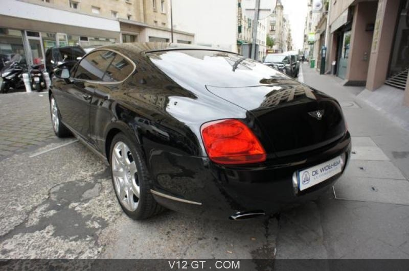 bentley continental gt vendu 2007 petites annonces. Black Bedroom Furniture Sets. Home Design Ideas