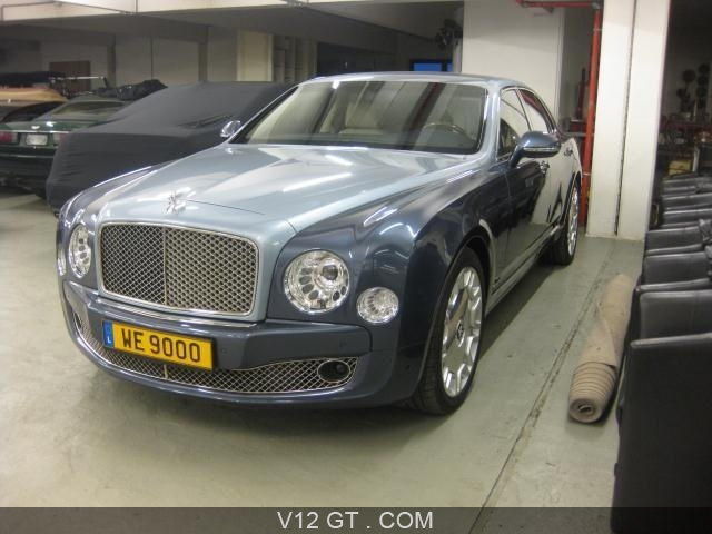 bentley mulsanne vendu 2011 petites annonces gratuites. Black Bedroom Furniture Sets. Home Design Ideas