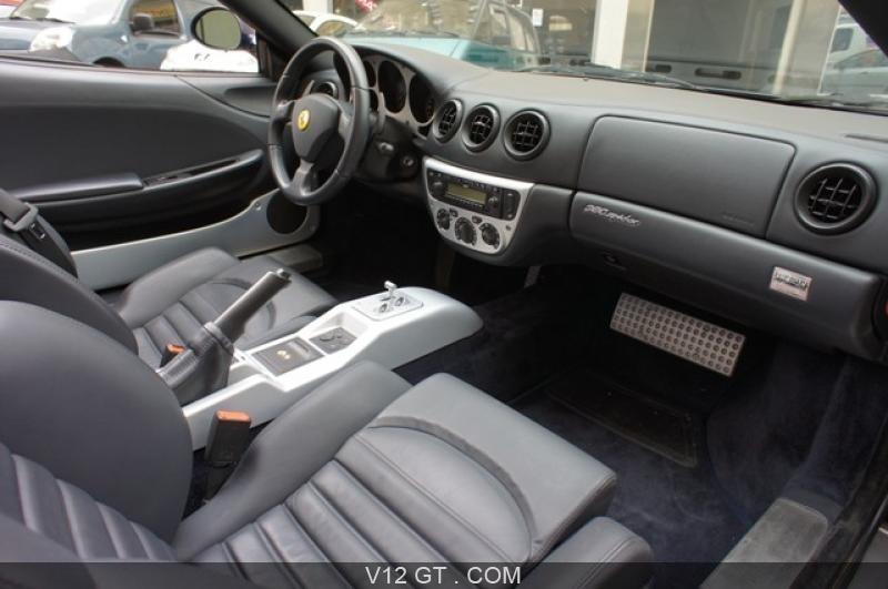 Interieur 360 Karachi Of Ferrari 360 Modena Vendu 2002 Petites Annonces