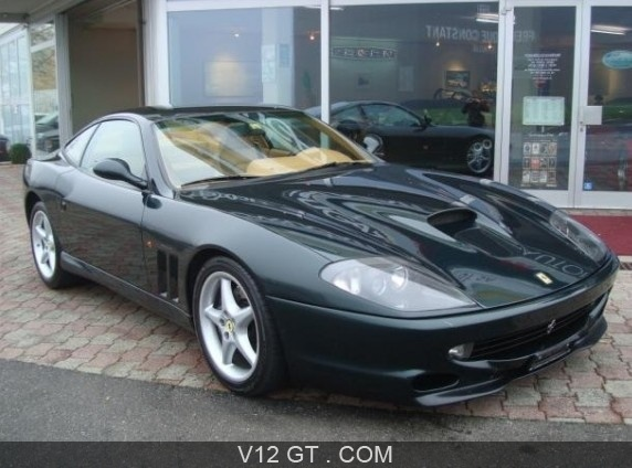 ferrari 550 maranello vendu 1999 petites annonces. Black Bedroom Furniture Sets. Home Design Ideas