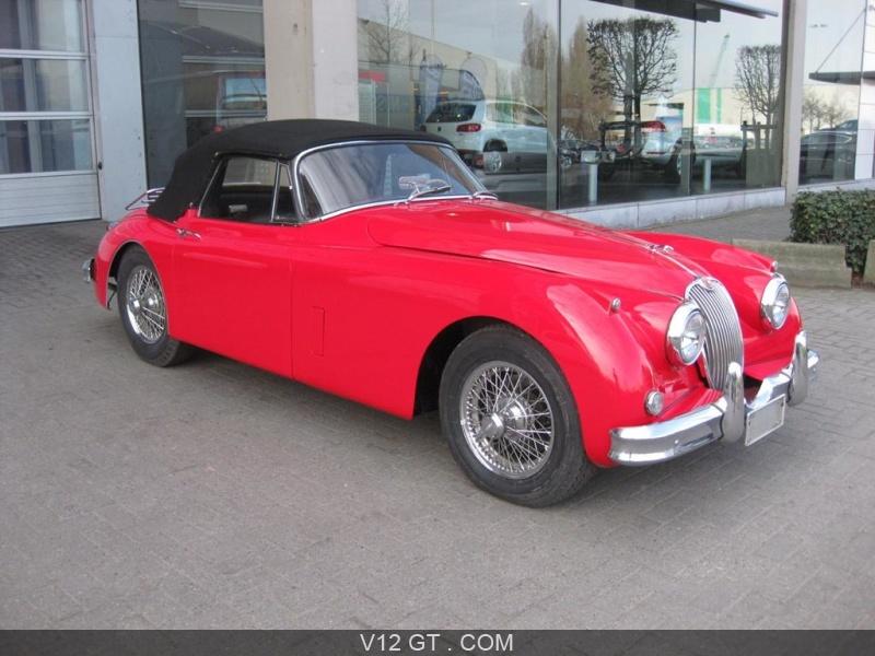 Jaguar xk150 dhc vendu 1960 petites annonces gratuites for Ou acheter un rehausseur voiture