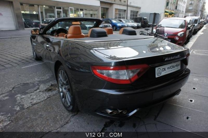maserati grancabrio vendu 2010 petites annonces. Black Bedroom Furniture Sets. Home Design Ideas