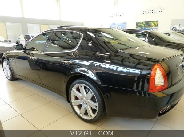 maserati quattroporte s vendu 2008 petites annonces. Black Bedroom Furniture Sets. Home Design Ideas