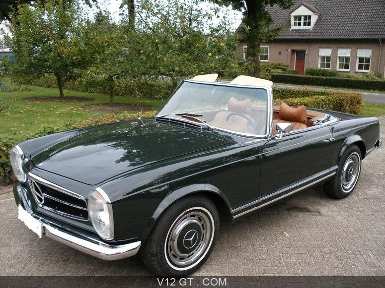 mercedes benz 280 sl vendu 1970 petites annonces. Black Bedroom Furniture Sets. Home Design Ideas