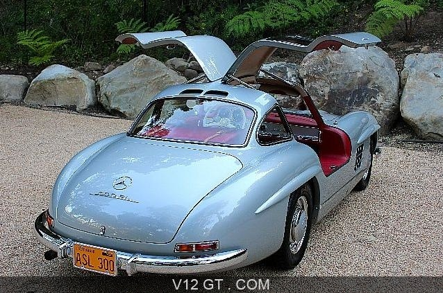 mercedes benz 300 sl vendu 1956 petites annonces. Black Bedroom Furniture Sets. Home Design Ideas