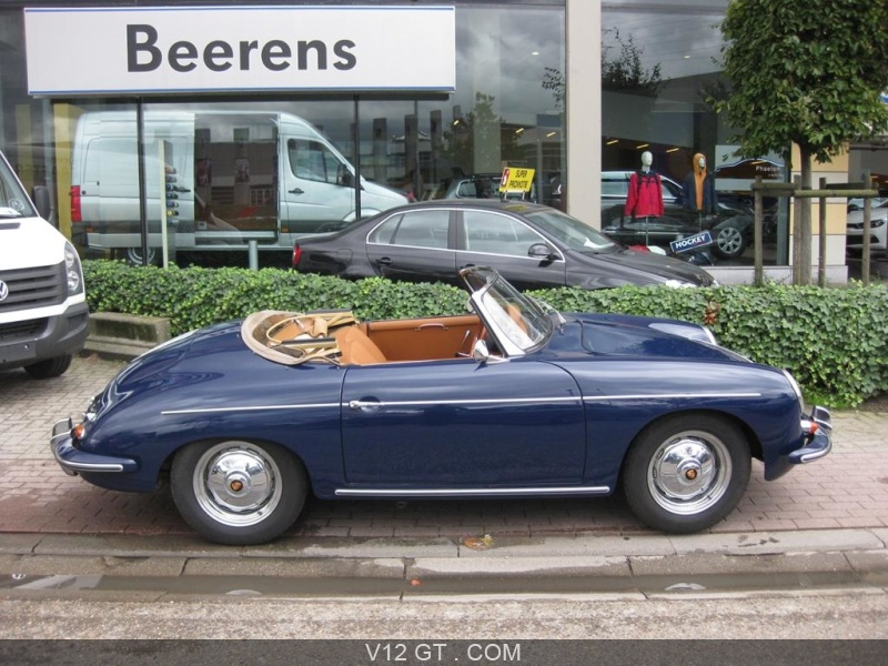 porsche 356 b roadster vendu 1960 petites annonces. Black Bedroom Furniture Sets. Home Design Ideas