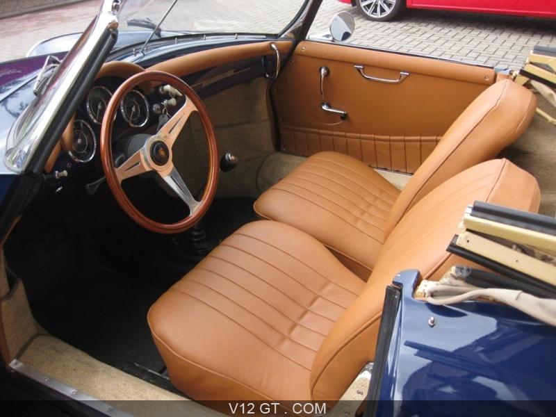Porsche 356 b roadster vendu 1960 petites annonces for Interieur 1960